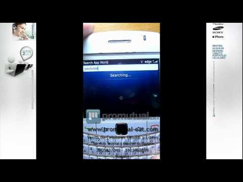 : como bajar e instalar en Blackberry Curve Bold 8520 9700 9300