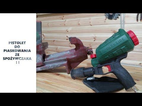 Pistolet De Sablage Parkside Lidl Pdsp 1000 B2 Air