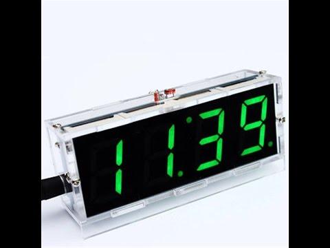 Красивые часы FiBiSonic. - YouTube