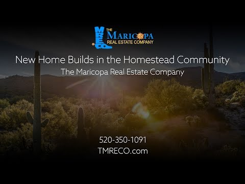 New Home Builds in the Homestead Community Maricopa