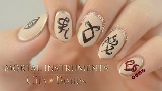 The Mortal Instruments Nail Art Tutorial