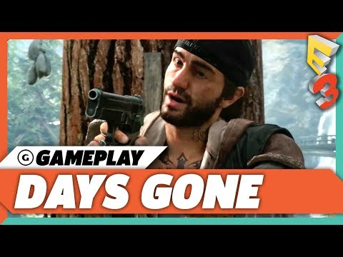 Days Gone Gruesome Gameplay Demo | E3 2017 Sony Press Conference