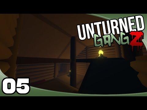 Unturned GangZ: Yukon - Ep. 5: A Better Roof