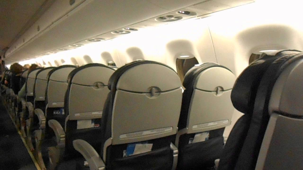 Complete cabin vieuw lot polish airlines embraer 195 youtube for Cabin lots