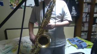 """Risky Game(リスキーゲーム)"" (Vocaloid) on Tenor Sax"