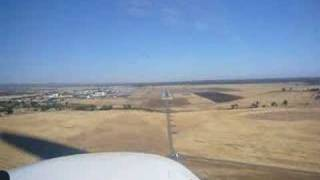Landing at Chico, CA