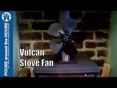 Vulcan Stove Fan Stirling Engine Powered. Demo and Overview.