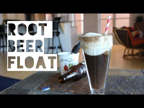 Healthy Root Beer Float Recipe   How To Make A Low Calorie Root Beer Float