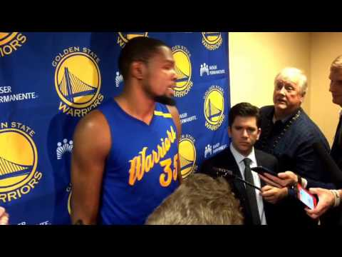 Durant postgame Warriors (27-5) Xmas: last play, Stephen Curry, Cavs rivalry, reb