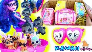 My Little Pony + LOL Май Литл Пони Мультик + ПИТОМЦЫ ЛОЛ #Easter Gift from KAWAII SQUEEZIES