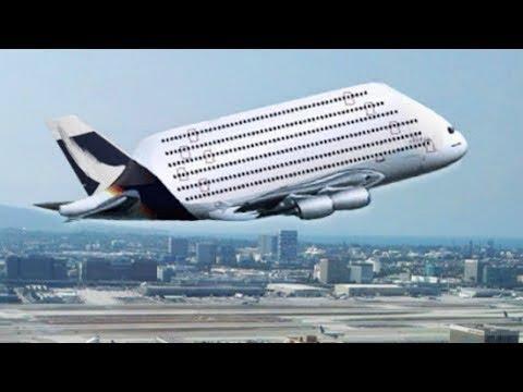 Airbus a380 as es el avi n m s grande del mundo youtube for Avion airbus a380 interieur