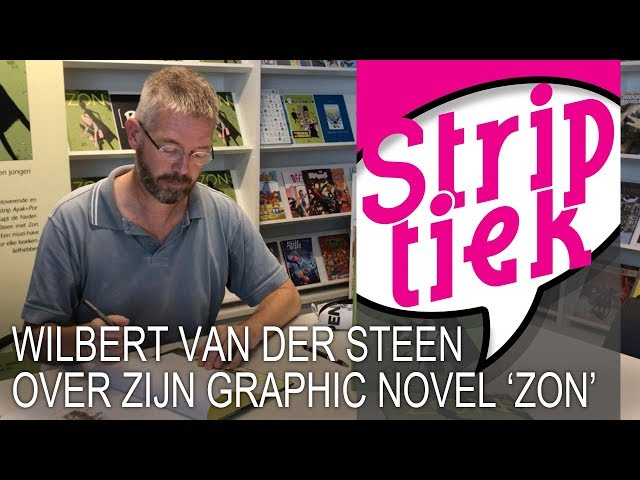 Wilbert van der Steen over zijn graphic novel 'ZON'