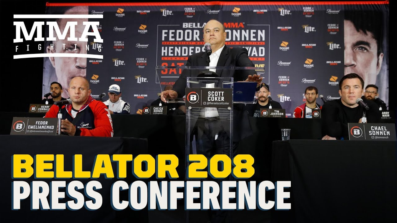Bellator 208: Fedor vs. Sonnen Pre-Fight Press Conference - MMA Fighting