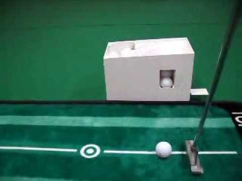 Semi Automatic Golf Ball Dispenser carrying out 30 balls for putting, G-TMG2