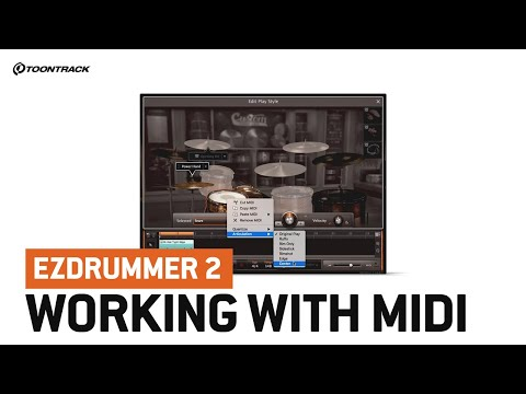 EZdrummer 2 – Working With MIDI