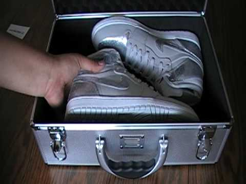 2bfd9d880f163a Air Jordan 1 Retro Hi Silver - YouTube