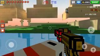 Pixel Gun 3D: Heaven garden house glitch