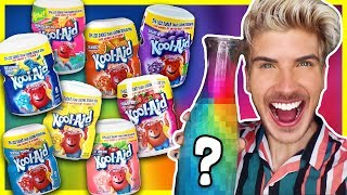 Download MIXING EVERY FLAVOR OF KOOL-AID TOGETHER - TASTE TEST! Mp3 and Videos