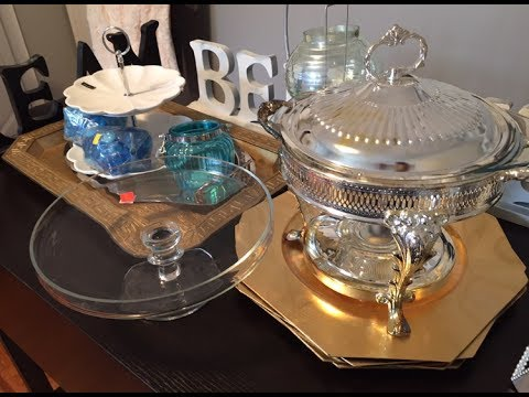 Home Decor Haul - Thrift - Salvation Army, Value Village, Talize
