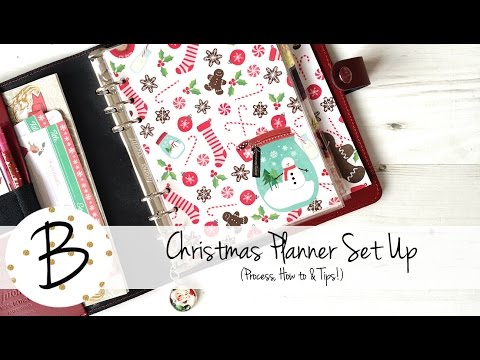 Christmas Planner Set Up (Process, How to & Tips!)