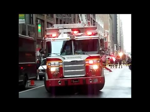FDNY - Vintage 2011 Video On Scene Of A Collapse - 1/30/15