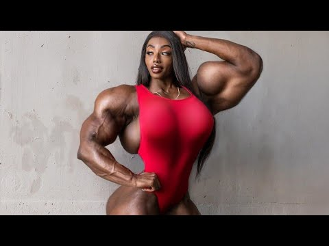 FEMALE BODYBUILDING, – SHANIQUE, IFBB PRO, FITNESS MODEL, GYM WORKOUT,