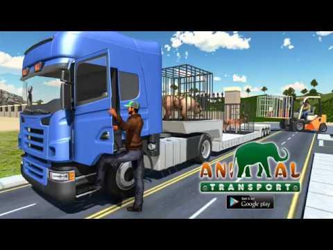 Zoo Animal Transport Games Safari Animal Transport