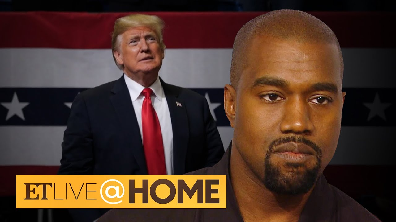 Kanye West Says He No Longer Supports President Trump | ET Live @ Home