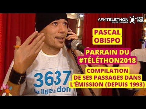 Pascal Obispo, parrain du Téléthon 2018