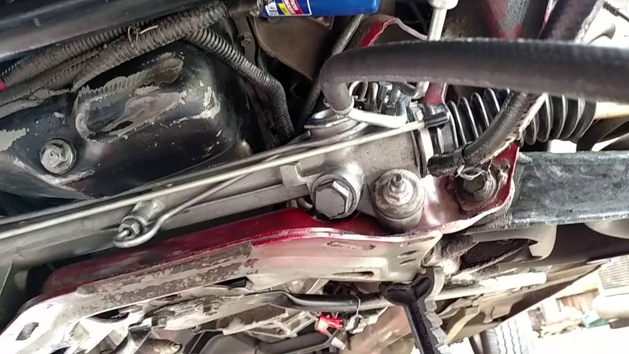 rack and pinion install on fox body mustang