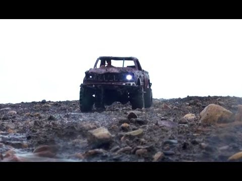 RC ADVENTURES - Muddy Hilux - Top Gear Scale 4x4 Truck -