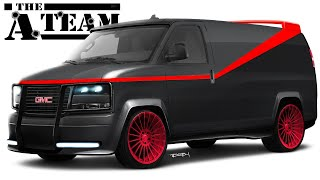 I Create a Modern Version of the Iconic A-TEAM GMC Van!