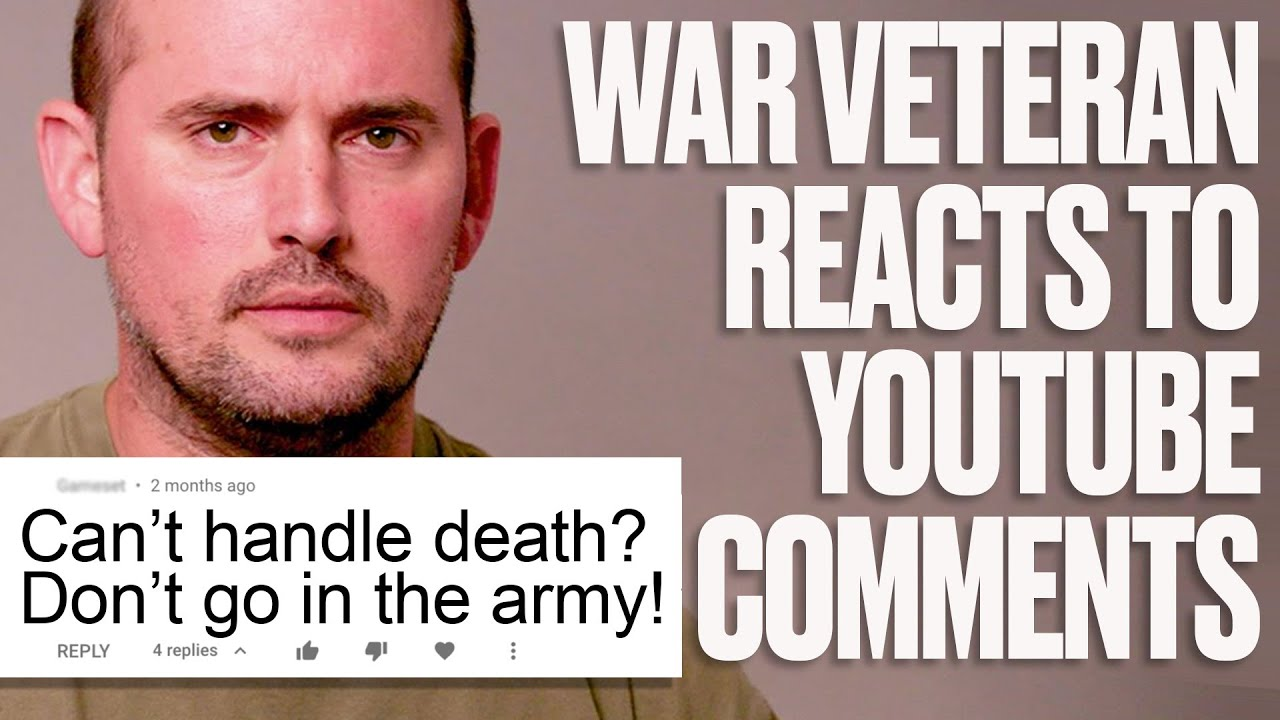 Army Veteran Responds To Trolls and Discusses His PTSD | LADbible
