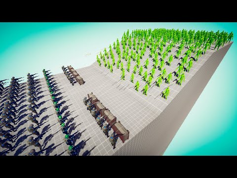 TABS - Insane ZOMBIE INVASION Even the Military Can't Stop in Totally Accurate Battle Simulator!