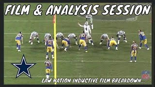 Inductive Film & Analysis Session On The  Dallas Cowboys 4&1 Play