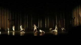 Spectacle des Humanités danse du Lycée Martin V 2009 - Scanner and Kim Cascone de Matteo Moles