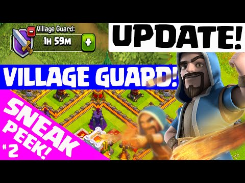Clash of Clans UPDATE ♦ NEW VILLAGE GUARD! ♦ Update Sneak Peek #2! ♦ CoC ♦
