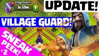 Clash of Clans UPDATE ♦ NEW VILLAGE GUARD! ♦ Update Sneak Peek #2! ♦ CoC ♦