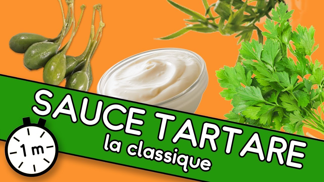 Sauce tartare - Astuce Youcook