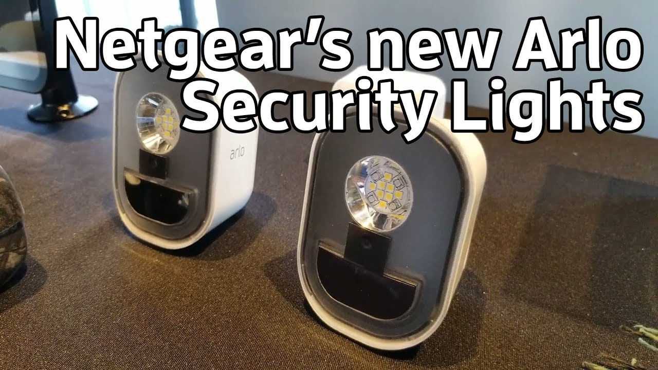 Arlo Security Lights are new from Netgear