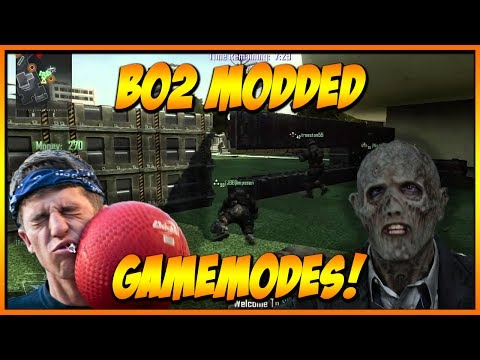 Bo2 Modded Gamemodes Xbox One/Xbox 360!! - DODGEBALL, ZOMBIELAND, PROP HUNT AND MORE!