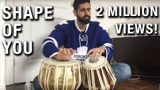 Shape of You - Tabla Cover Mp3