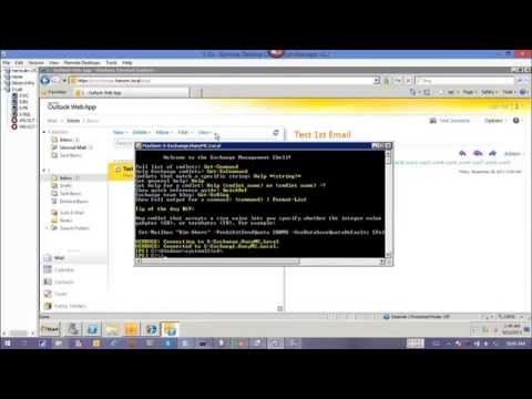 16 WOW Lync Exchange OWA Integration Exch Certificate Config Enable IM Config Lync Test Part2 2