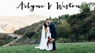 Our Wedding Day Video: Arlyne & Weston(Our wedding day video is here, Arlyne & Weston! We got married September 18, 2015 in Temecula, Ca. We had the most beautiful, gorgeous outdoor wedding!, 2016-01-09T19:54:19.000Z)