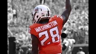 "James Washington || ""Best Deep Threat in College Football"" ᴴᴰ || Oklahoma State 2016 Highlights"