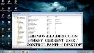 Tutorial - Cambiar fondo de pantalla en Windows 7 starter (sin programas)