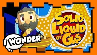 I Wonder - Episode 11 - Stampylonghead (Stampy Cat) and Keen - Solid, Liquid, or Gas! - WONDER QUEST