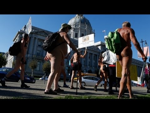 Body painting day San Francisco 2016, part 2/3: group portraits (Warning: nudity) from YouTube · Duration:  6 minutes 37 seconds