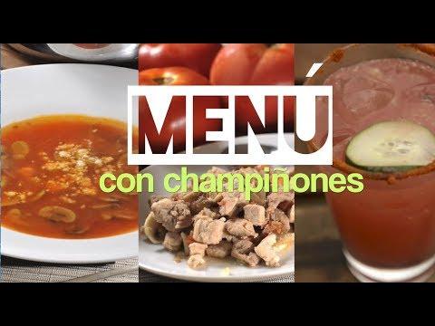 Men con champi ones qu hago de comer hoy youtube for Que hacer para comer hoy