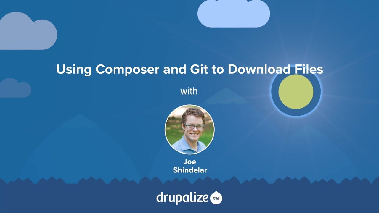 3 5  Using Composer to Download and Update Files | Drupal 8 User